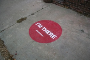 "State Farm ""I'm There"" Sidewalk Chalk"