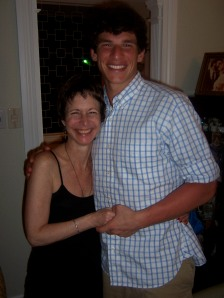 David Fajgenbaum and His Mom Anne Marie