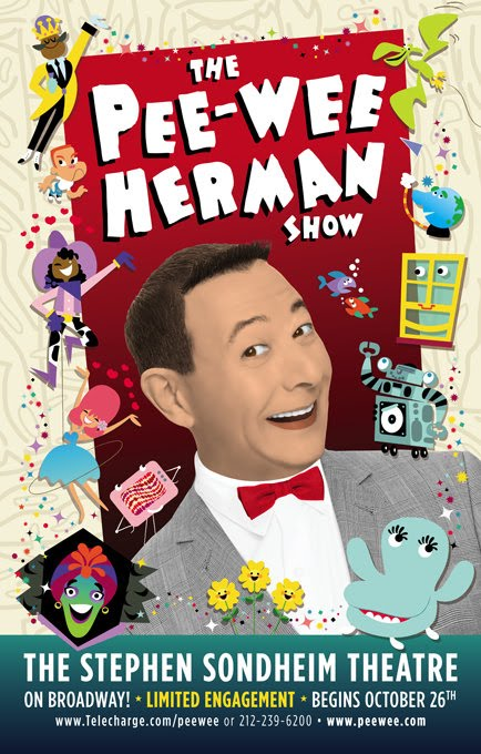 Pee-wee on Broadway