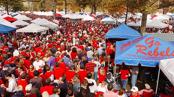 Ole Miss Tailgating & 10 GREAT COLLEGE FOOTBALL TAILGATING HOTSPOTS | College Marketing ...