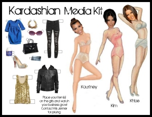 Exhibit A: The Kardashian marketing machine.
