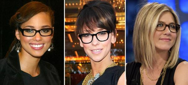 Spring 2011 Celeb Fashion Trends - Horn-Rimmed Glasses