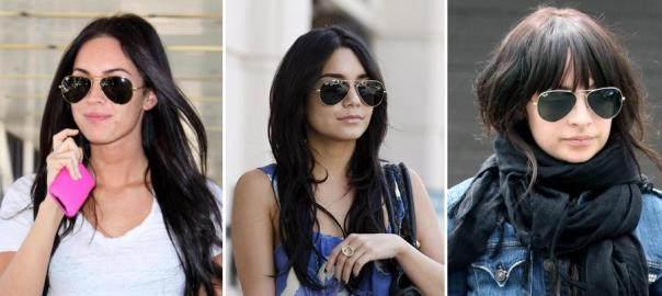 Spring 2011 Celeb Fashion Trends - Ray Ban Aviator Sunglasses