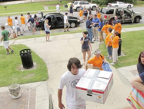 Coker College Move In Day